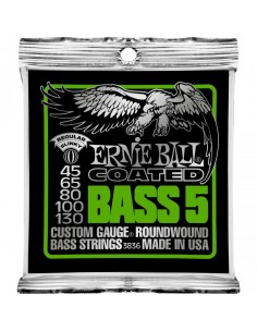 Ernie Ball 3836 - Coated Slinky Bass 45-130